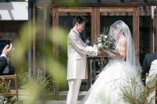 竹田城跡のふもと古民家ガーデン挙式