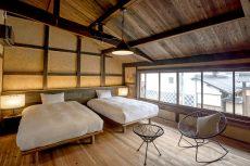 竹田城跡が望める客室