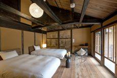 朝来市の古民家ホテル